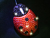 USB Bling Bling Ladybug Optical Mouse