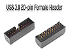 USB 3.0 20-pin Female Header