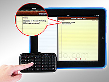 Mini Palm-Size Bluetooth Multimedia Keyboard