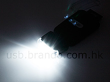USB Rechargeable Torch with Card Reader