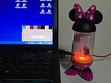 Disney Minnie USB Email Alert