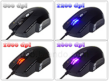 Elephant USB Leviathan Laser Gaming Mouse