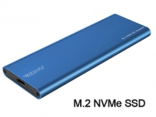 USB 3.1 Type-C to M.2 NVMe (PCI-E Protocol) Lane SSD Enclosure