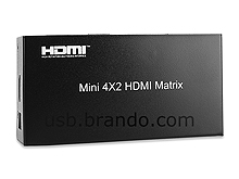 HDMI Switch Matrix (4 in 2 out)