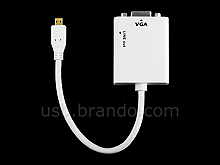 Micro HDMI Male to VGA + Audio Output Cable