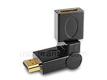 360° x 180° HDMI Female to HDMI Male Adapter