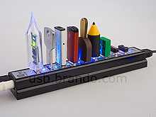 10-Port USB Hub Bar