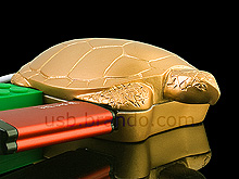 USB Gold Tortoise 4-Port Hub