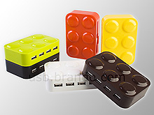 CHUNKY USB Brick 4-Port Hub