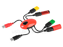 USB Spider 4-Port Hub