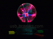 USB Plasma Ball with 4-Port Hub