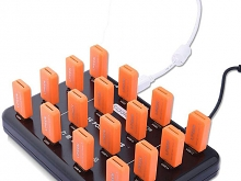 16-Port USB Hub (Support 16 U-Disk/micro SD for Bulk Duplicate)
