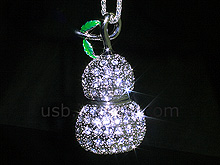 USB Jewel Calabash Necklace Flash Drive