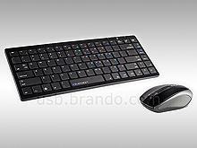 Elephant Angle Wireless Slim Keyboard + Optical Mouse