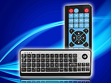 2.4GHz Wireless Keyboard with Trackball and  IR Remote