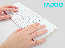 Rapoo E6700 Bluetooth Touch Keyboard