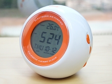 USB Digital Thermo Clock With Air Purifier