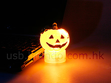 USB Halloween Pumpkin Light