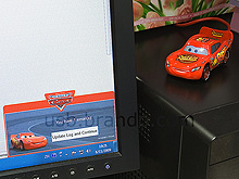 Disney Cars USB Email Alert