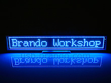 USB LED Message Banner
