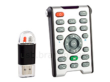 USB Computer Remote Control with Laser Pointer