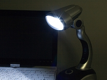 USB 12-LED Desk Lamp