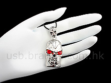 USB Skeleton Necklace Flash Drive
