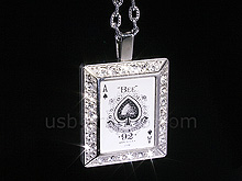 USB Jewel ACE Necklace Flash Drive II