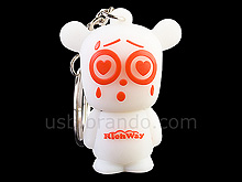 USB Astonished Bear Keychain Flash Drive