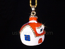 USB Jewel House Necklace Flash Drive