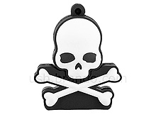 USB Skull Flash Drive