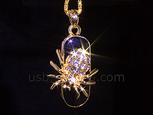 USB Jewel Spider Necklace Flash Drive