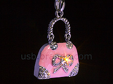 USB Jewel Pretty Handbag Necklace Flash Drive