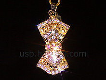 USB Jewel Classical Pendant Necklace Flash Drive II