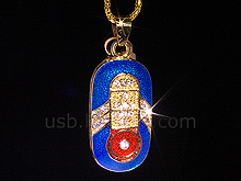 USB Jewel Great Pendant Necklace Flash Drive