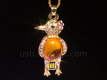USB Jewel Bird Necklace Flash Drive II