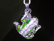 USB Jewel Frog Necklace Flash Drive II