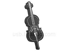 USB Violin Flash Drive