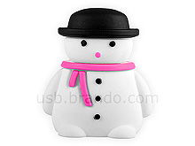 USB Snowman Flash Drive III