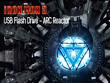 infoThink IRON MAN 3 USB Flash Drive - ARC Reactor