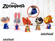 infoThink ZOOTOPIA - USB Flash Drive