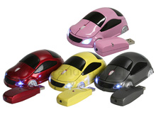 Wireless USB Car Optical Mouse