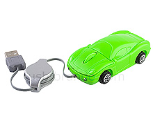 USB Mini Car Retractable Optical Mouse