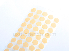 0.15mm Thick Mouse Feet Affixed Sticker