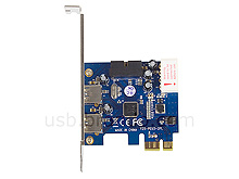 2-Port USB 3.0 PCI Express Card with 20-Pin Header