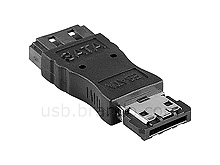 eSATA Male to SATA Female Adapter
