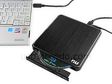USB 3.0 Portable Slim Blu-Ray Burner (EBR253)