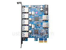 ORICO 7-Port USB 3.0 PCI Express Card
