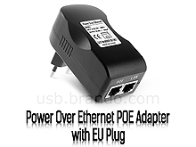 Power Over Ethernet POE Adapter with EU Plug