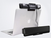 USB Clip-On Screen-Top Speaker